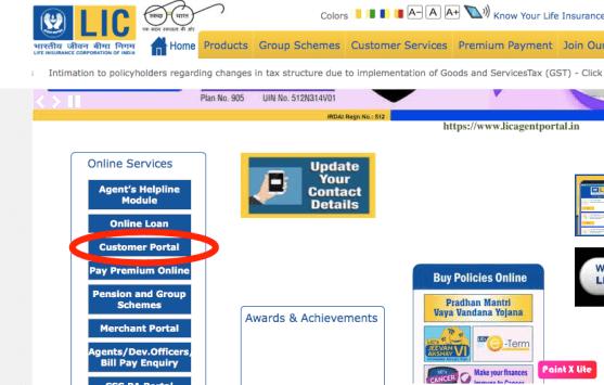 Customer-Portal-services