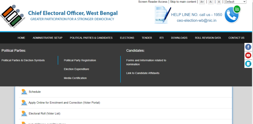 Enrollment And Correction In Voter List