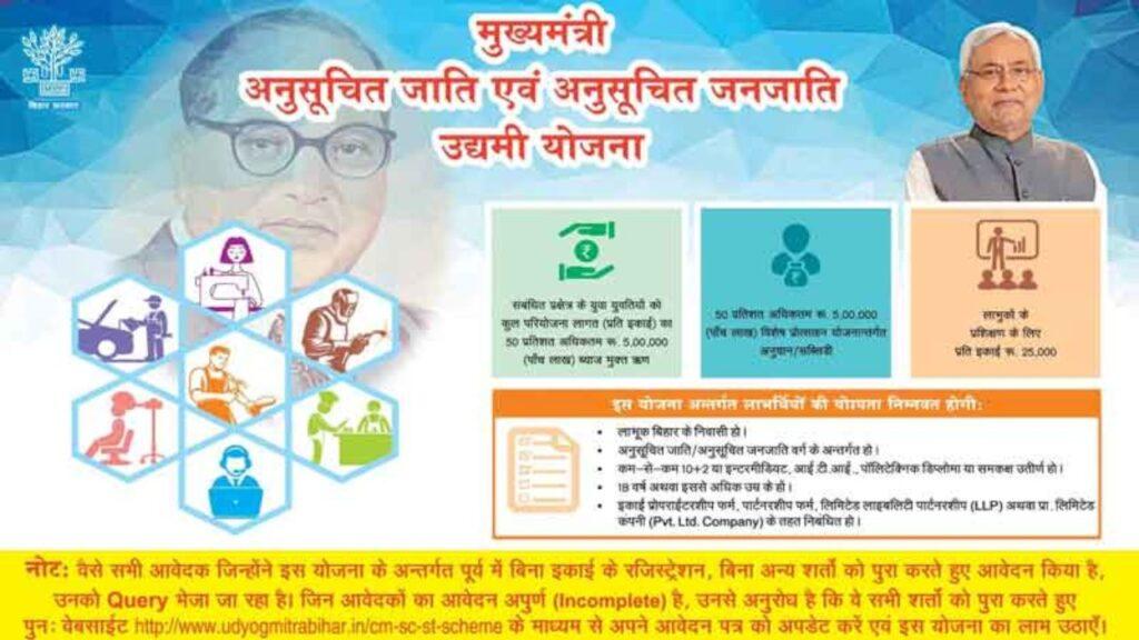 Bihar Chief Minister Entrepreneur Scheme