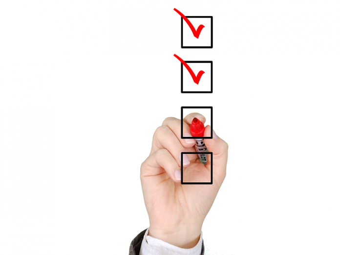 checklist for life and health insurance