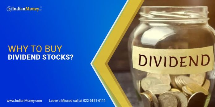 why to buy dividend stocks